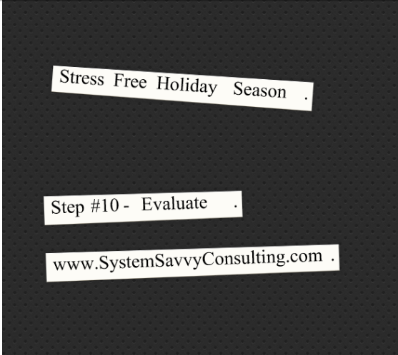 SystemSavvy Consulting time management evaluate