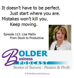 Lisa Mallis - Aprille Janes - Bolder Business Podcast