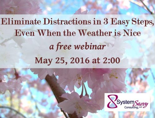 Eliminate Distractions in 3 Easy Steps