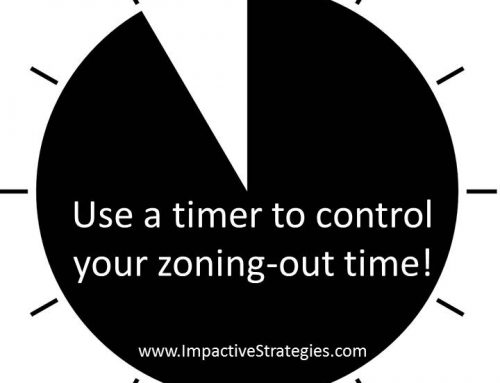Are You Charging Your Batteries or Zoning Out?