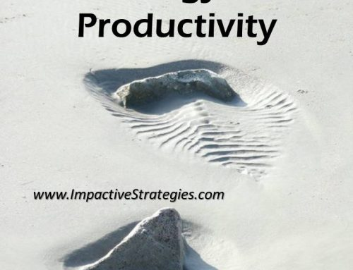 What Are the Three Ingredients of Productivity?