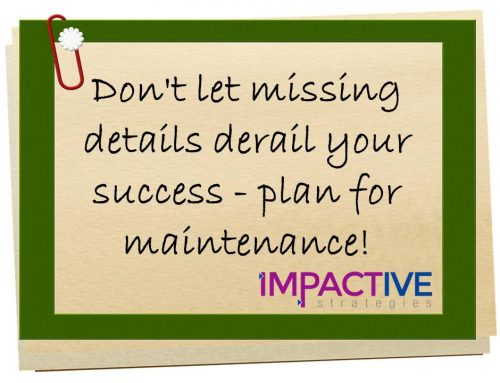2 Steps for Intentional Planning