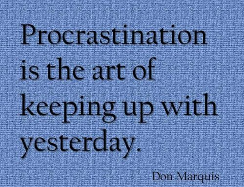 The 6 Triggers of Procrastination