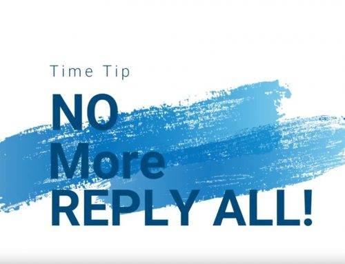 "A Tool to Avoid the Dreaded ""Reply All"""
