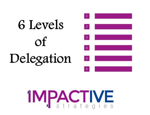 The Importance of the 6 Levels of Delegation for Your Business